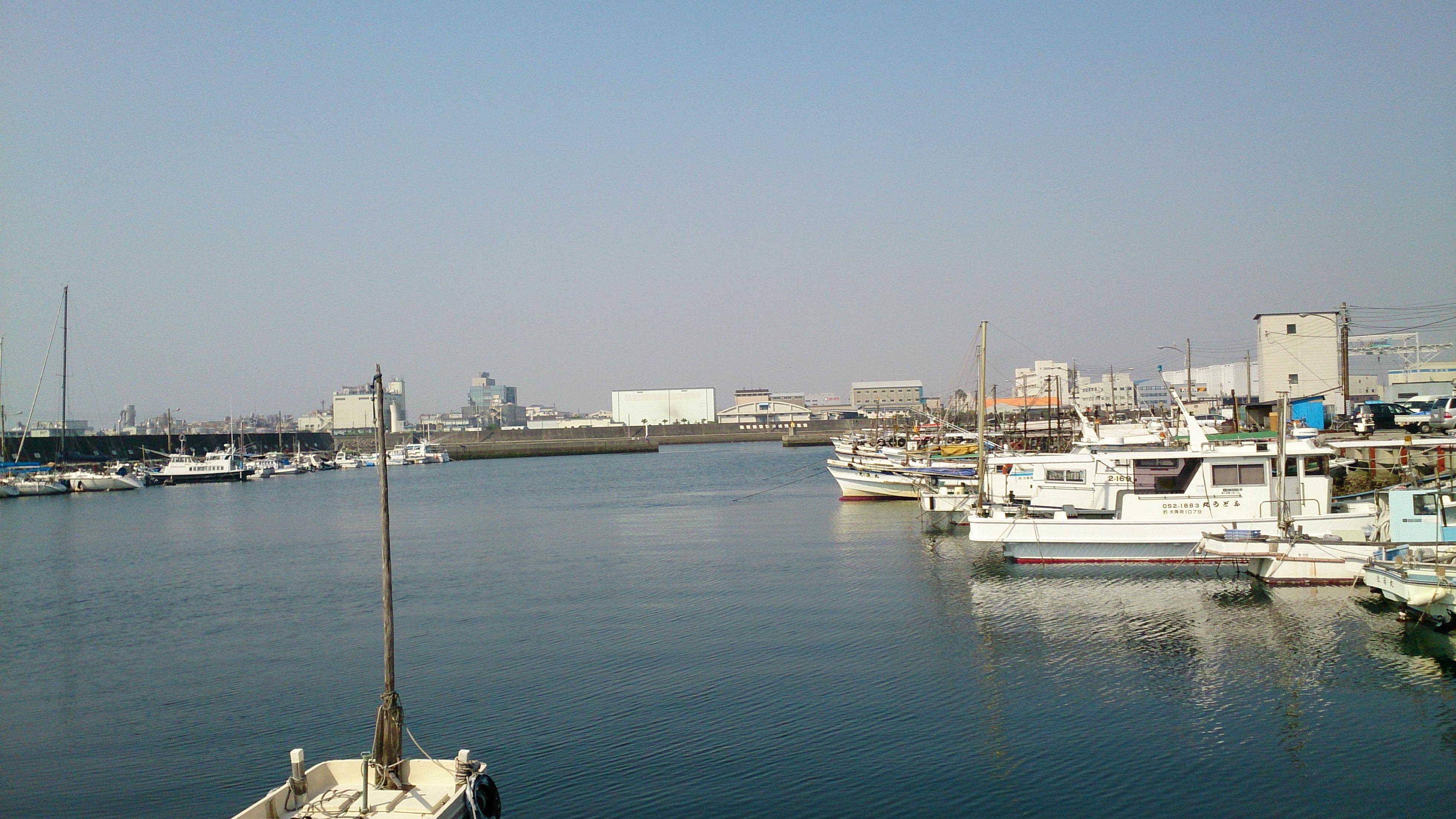 泉佐野漁港でのメバリング