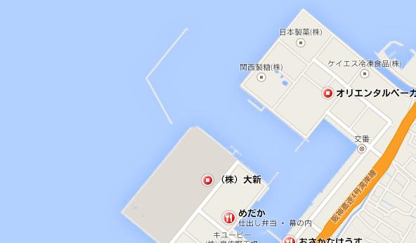 泉佐野食品コンビナートでのアジング